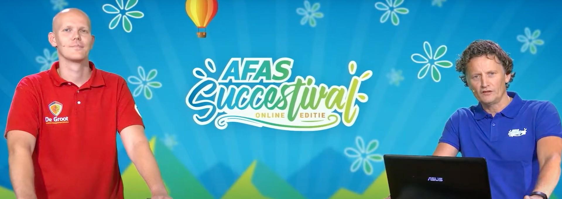Relyon tijdens AFAS Succestival